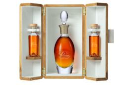 Coffret bois Intégral Prestige, Cognac Passion Leyrat. Une réalisation MSV.