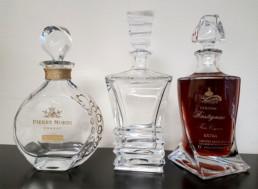 MSV met à votre disposition un large choix de bouteilles vides permettant un large éventail de possibilités et de créations verrières.