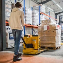 MSV vous propose un service de stockage de vos bouteilles vides ou pleines.